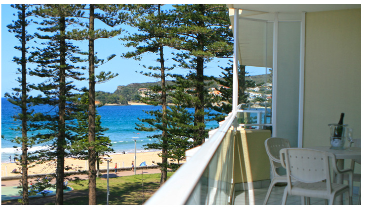 views of manly beach